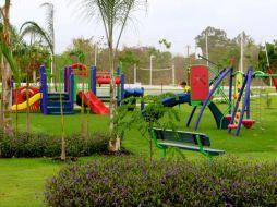 Parque infantil en Bijao instalado por Playtime