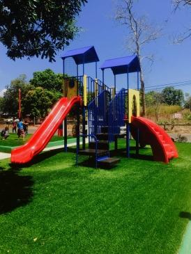 Rock n Slide - parque infantil en panama instalado por Playtime