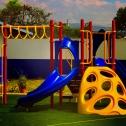Parque escolar en Republica de Guatemala por Playtime Panama modelo de playworld systmes
