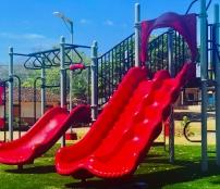 Parque Infantil modelo Ramp up de Playtime Panama
