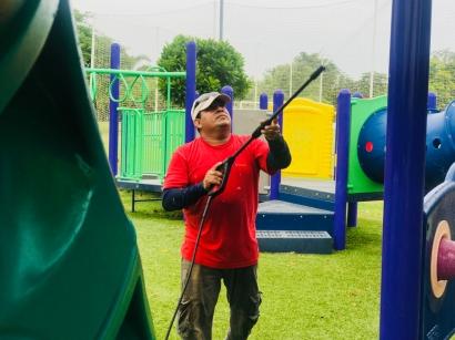 mantenimiento de parques infantiles biajo panama - 2