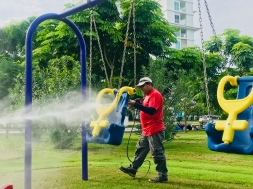 mantenimiento de parques infantiles biajo panama - 4