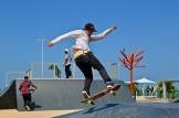 Parques Infantiles Panama - skatepark paseo marino colon - 1