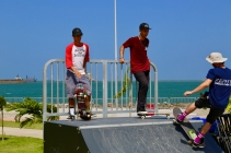 Parques Infantiles Panama - skatepark paseo marino colon - 7